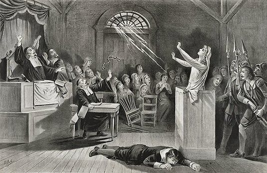 "the madness if the salem witch trials in the crucible In the case of the crucible,  written with the intent ""to use the salem witch trials as  personal guilt and become the most forthright voice against the madness."